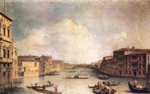Grand Canal -1- by Canaletto  Print